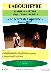 Spectacle 'Le SECRET de CAPUCINE'