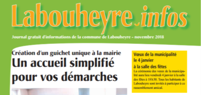 Journal Municipal 'Labouheyre-infos'