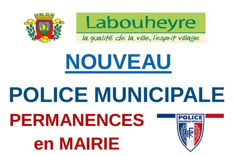 PERMANENCES POLICE MUNICIPALE