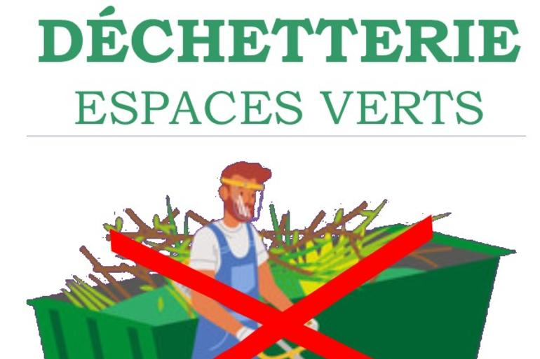 Déchetterie : attention travaux !